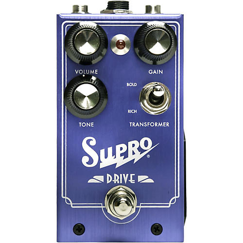 Supro Drive Guitar Effects Pedal thumbnail