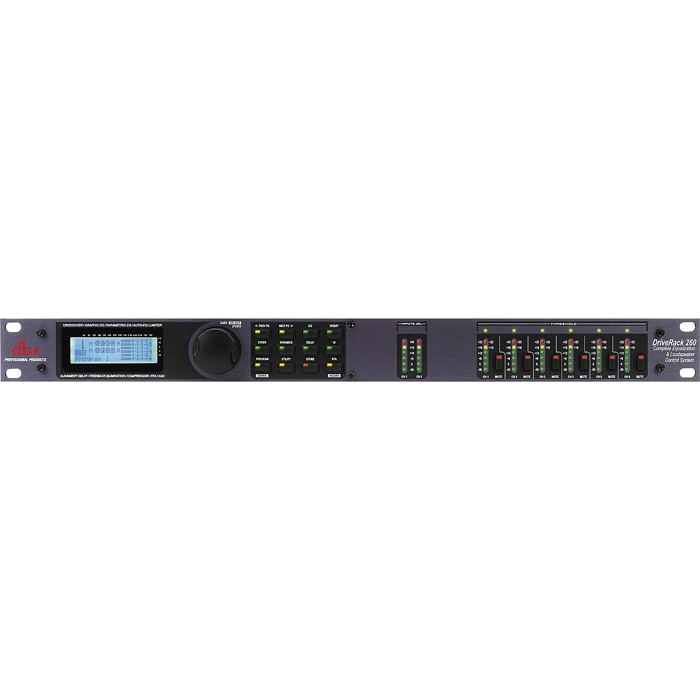 dbx DriveRack 260 Complete Equalization and Loudspeaker Control System thumbnail