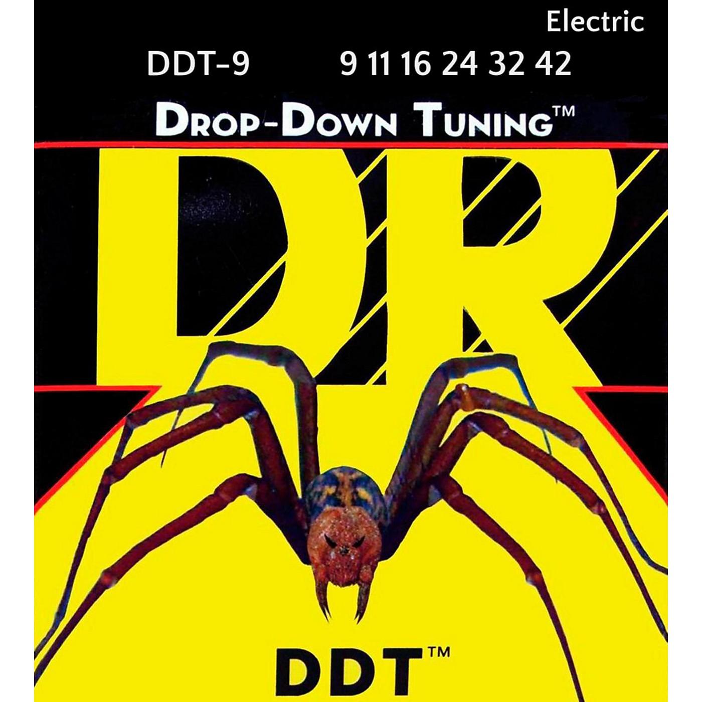 DR Strings Drop Down Tuning Lite Electric Guitar Strings (9-42) thumbnail