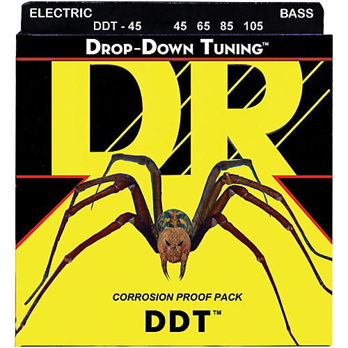 DR Strings Drop-Down Tuning Medium Bass Strings thumbnail
