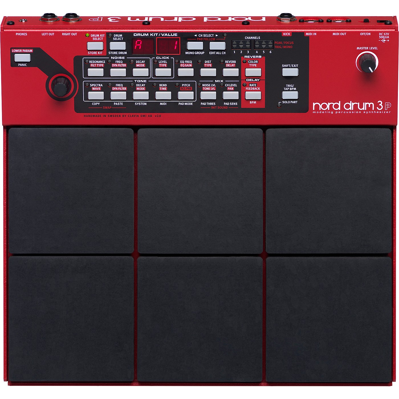 Nord Drum 3P Modeling Percussion Synthesizer thumbnail