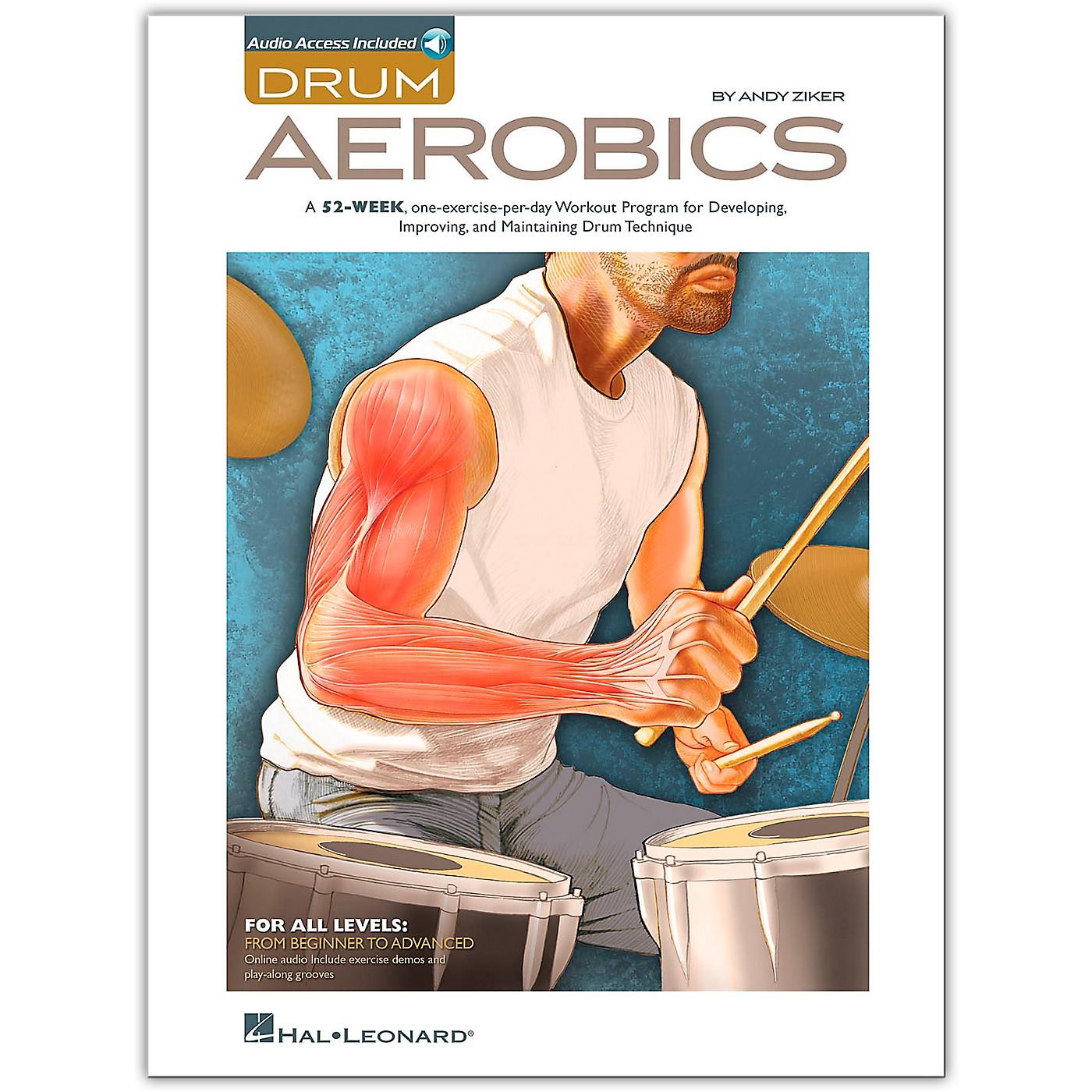 Hal Leonard Drum Aerobics - Book/Online Audio thumbnail