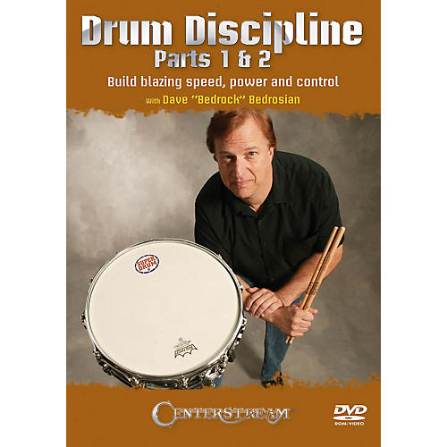 Centerstream Publishing Drum Discipline, Parts 1 & 2 Percussion Series DVD Written by Dave