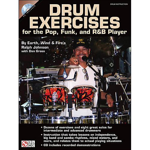 Cherry Lane Drum Exercises for The Pop, Funk, And R&B Player thumbnail