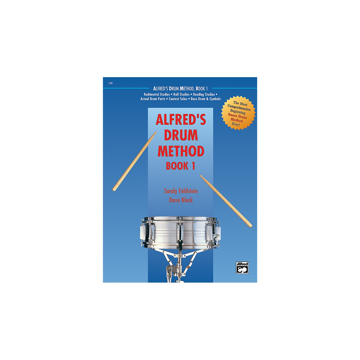 Alfred Drum Method Book 1 with DVD thumbnail