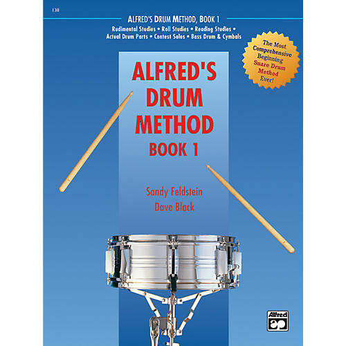Alfred Drum Method Book 1 with DVD-thumbnail