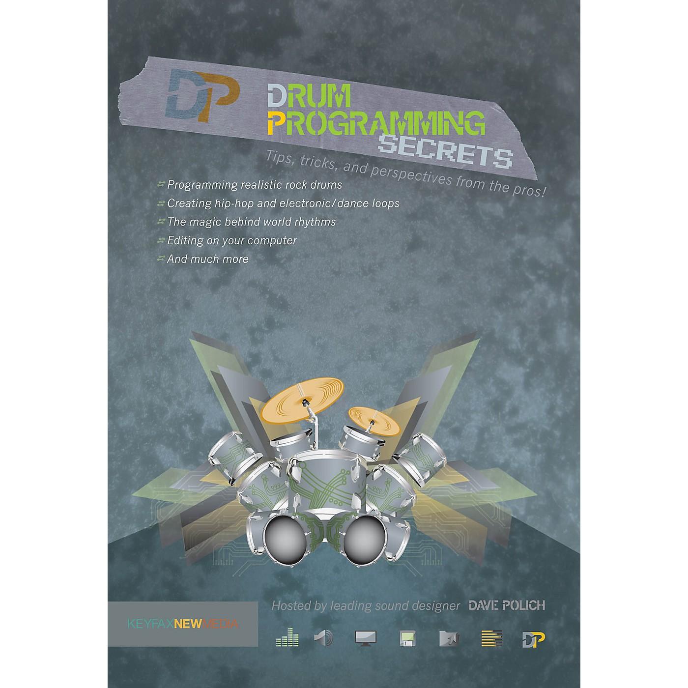 Keyfax Drum Programming Secrets DVD Series DVD Written by Various thumbnail
