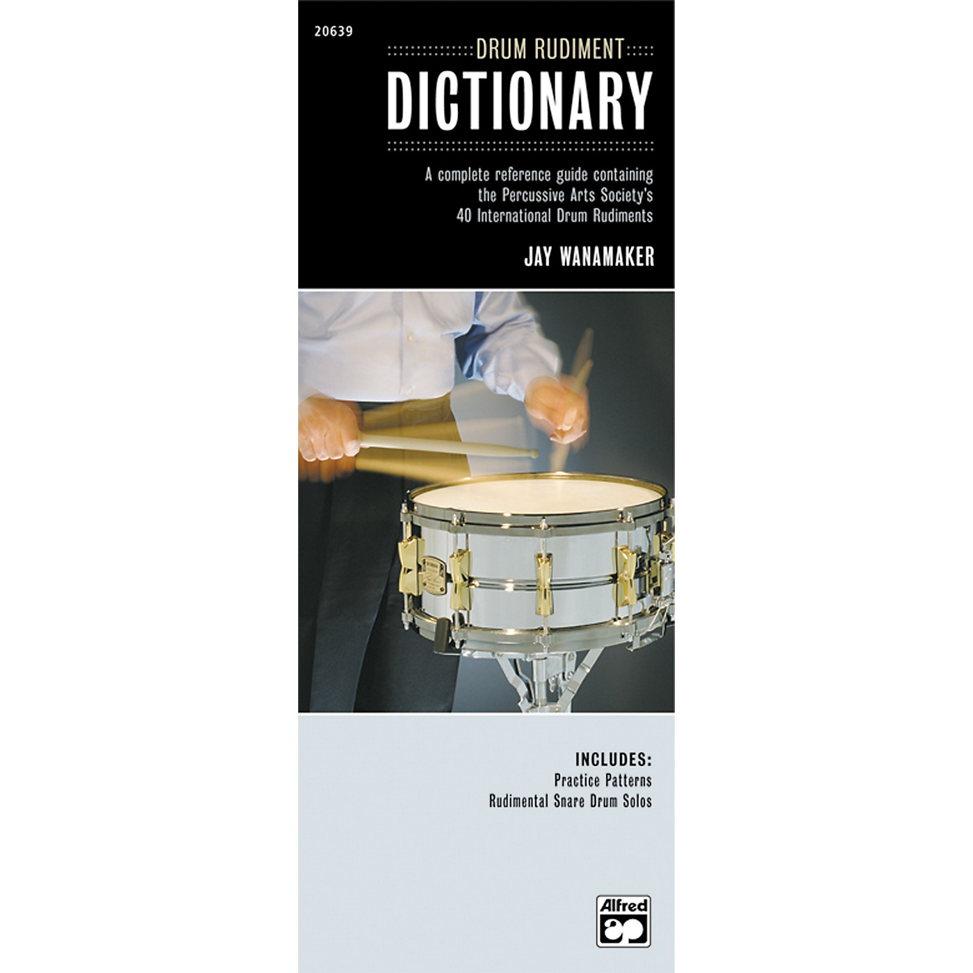 Alfred Drum Rudiment Dictionary (Book) thumbnail