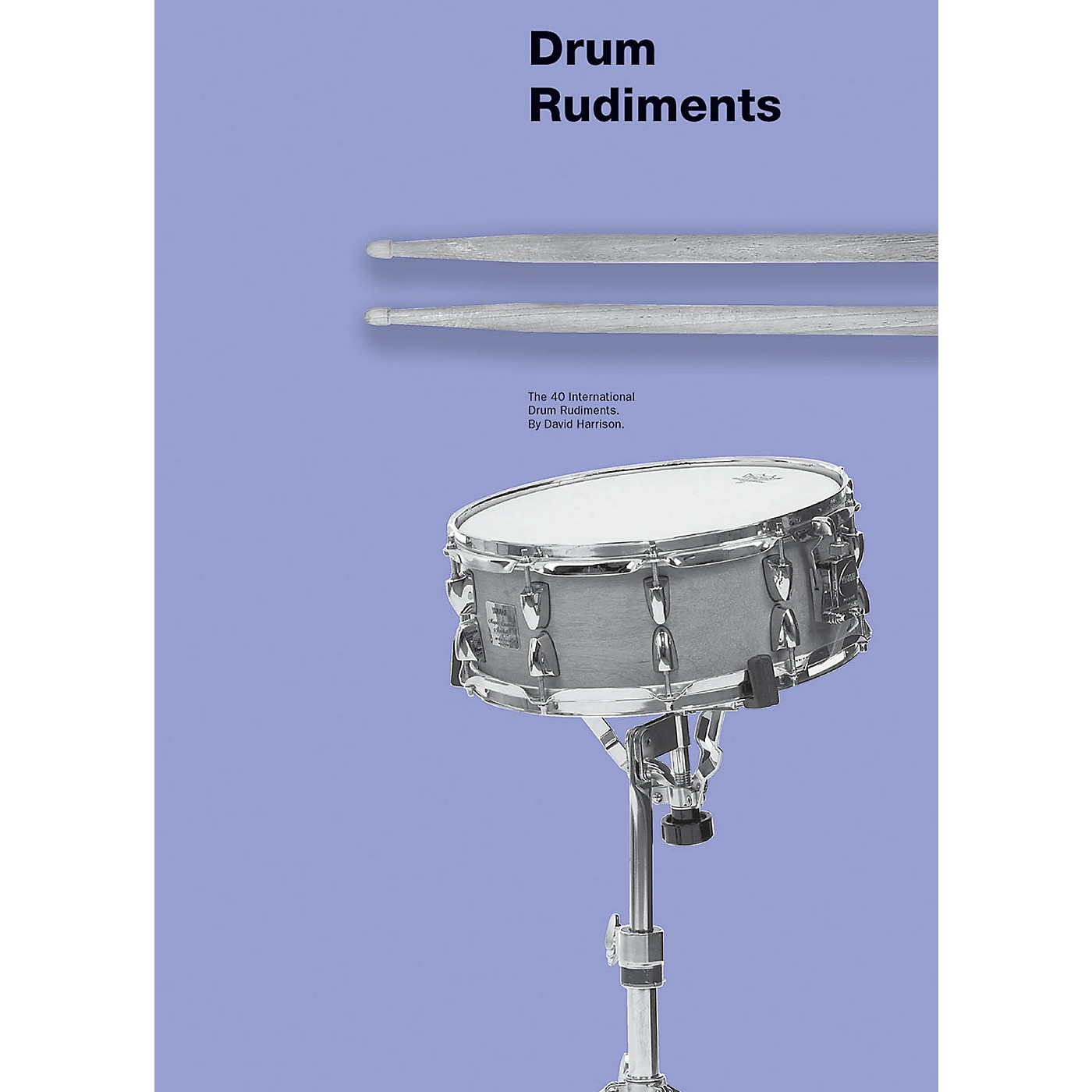 Music Sales Drum Rudiments Drum Instruction Series Softcover Written by David Harrison thumbnail