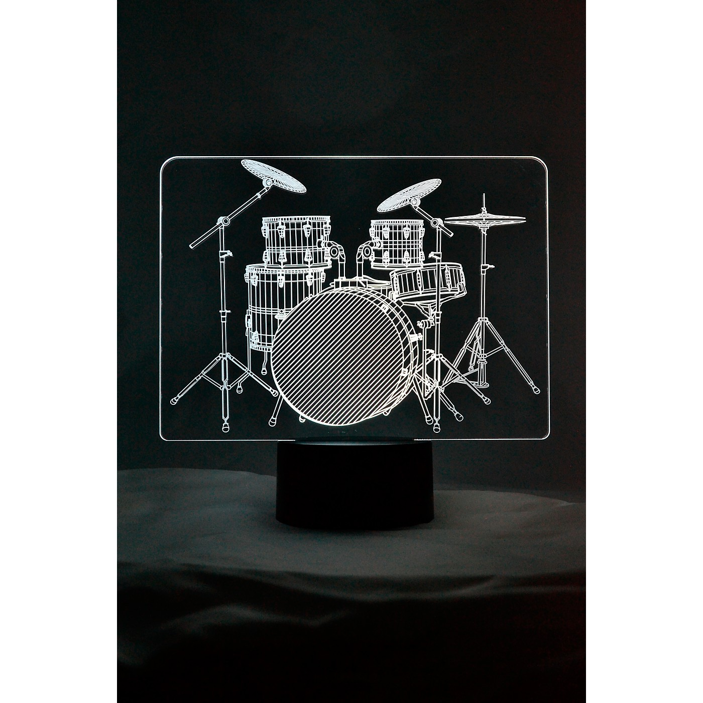 AIM Drum Set 3D LED Lamp Optical Illusion Light thumbnail