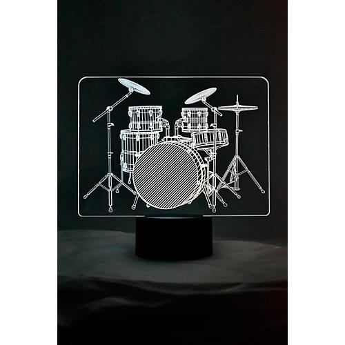 AIM Drum Set 3D LED Lamp Optical Illusion Light thumbnail