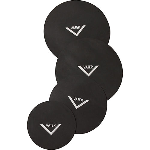 Vater Drum Set Mute Pad 4-Pack thumbnail