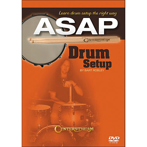 Centerstream Publishing Drum Setup ASAP: Learn Drum Setup The Right Way DVD thumbnail