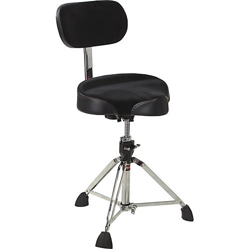 Gibraltar Drum Throne with Oversized Motorcycle Seat and Backrest thumbnail