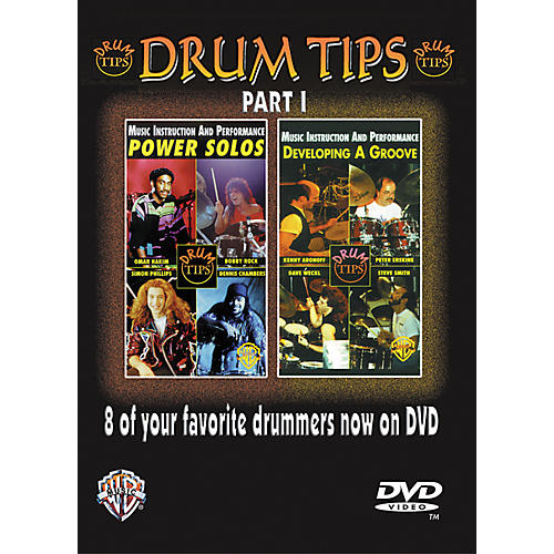 Alfred Drum Tips Part I - Power Solos/Developing a Groove DVD thumbnail