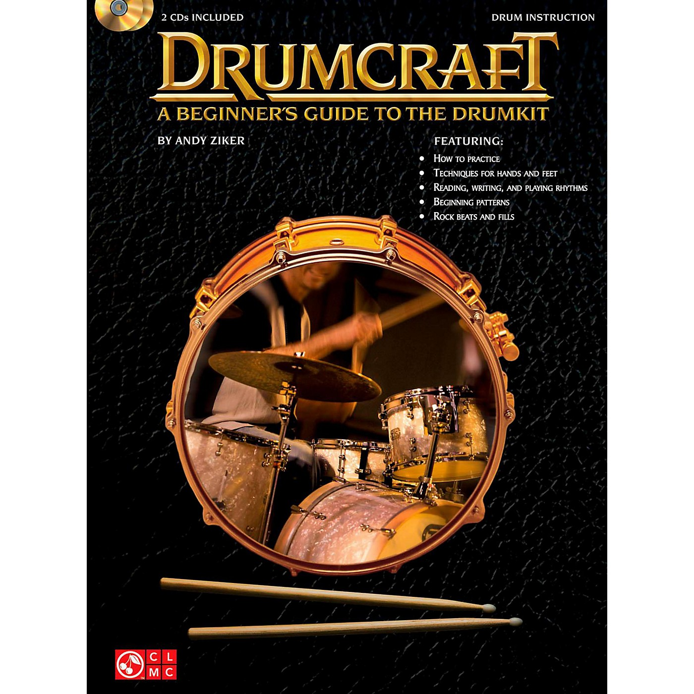 Cherry Lane Drumcraft - A Beginner's Guide To The Drumkit Book/2CD's thumbnail