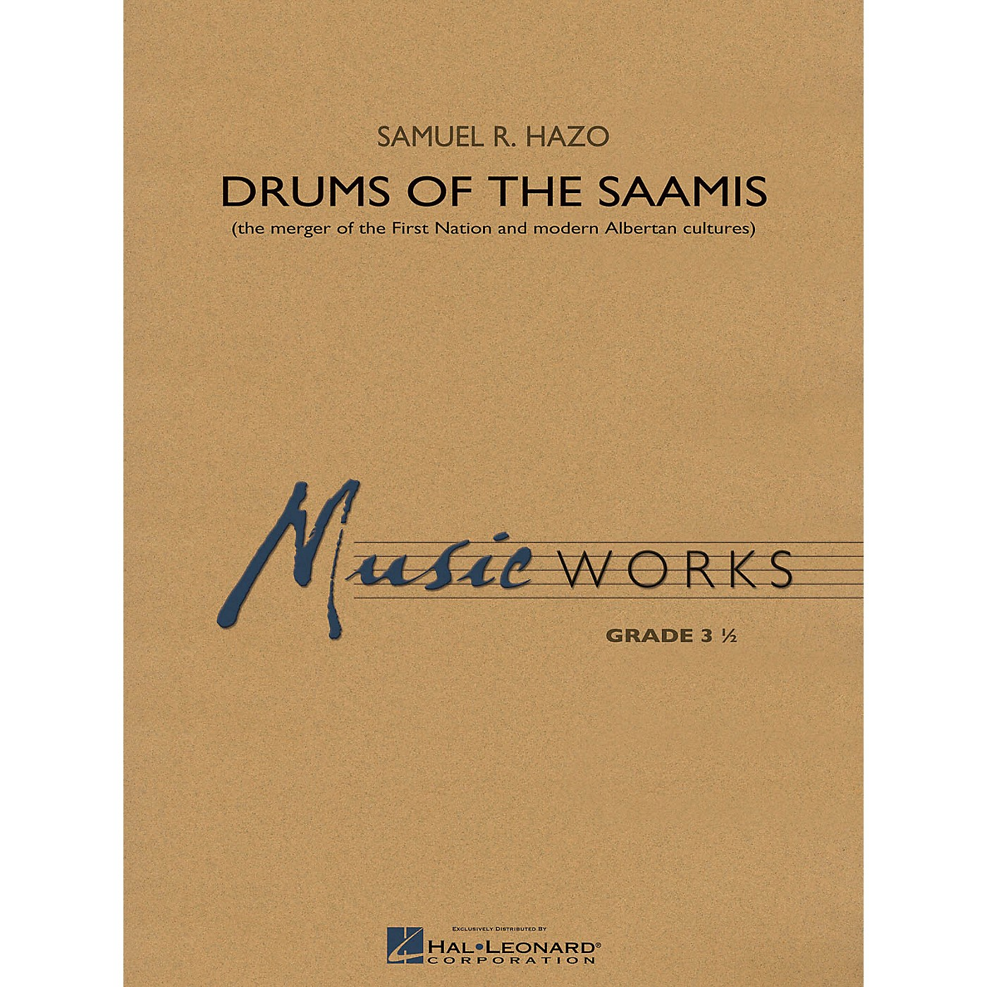 Hal Leonard Drums of the Saamis Concert Band Level 3.5 Composed by Samuel R. Hazo thumbnail