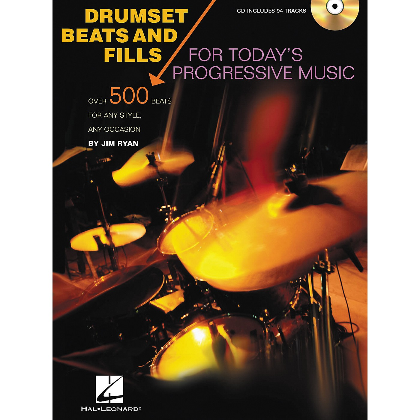 Hal Leonard Drumset Beats and Fills For Today's Progressive Music (Book/CD) thumbnail