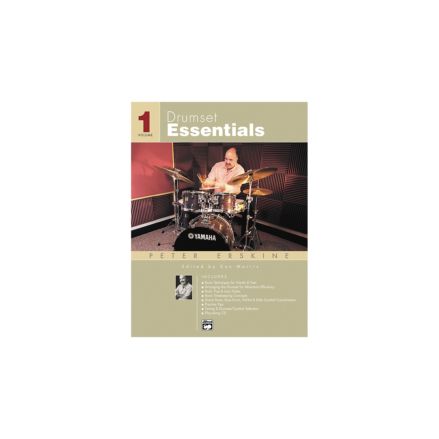 Alfred Drumset Essentials Volume 1 (Book/CD) thumbnail