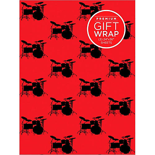 Hal Leonard Drumset Wrapping Paper thumbnail
