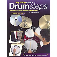 Music Sales Drumsteps Say and Play Book 1 Music Sales America Series Written by Geoff Battersby