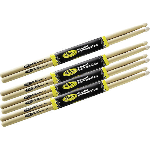 Sound Percussion Labs Drumsticks Buy 3 Get 1 Free, 5A Nylon Tip thumbnail