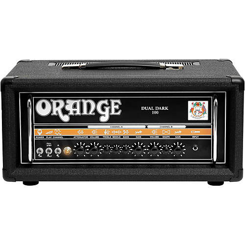 Orange Amplifiers Dual Dark 100W High-Gain Guitar Head-thumbnail