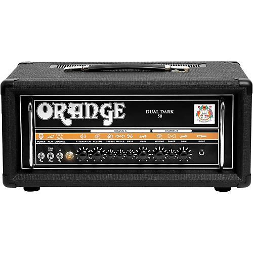 Orange Amplifiers Dual Dark 50W High-Gain Guitar Head thumbnail