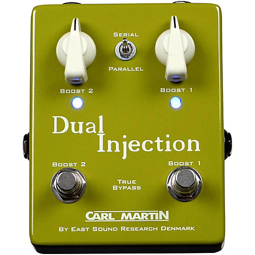 Carl Martin Dual Injection Overdrive Guitar Pedal thumbnail