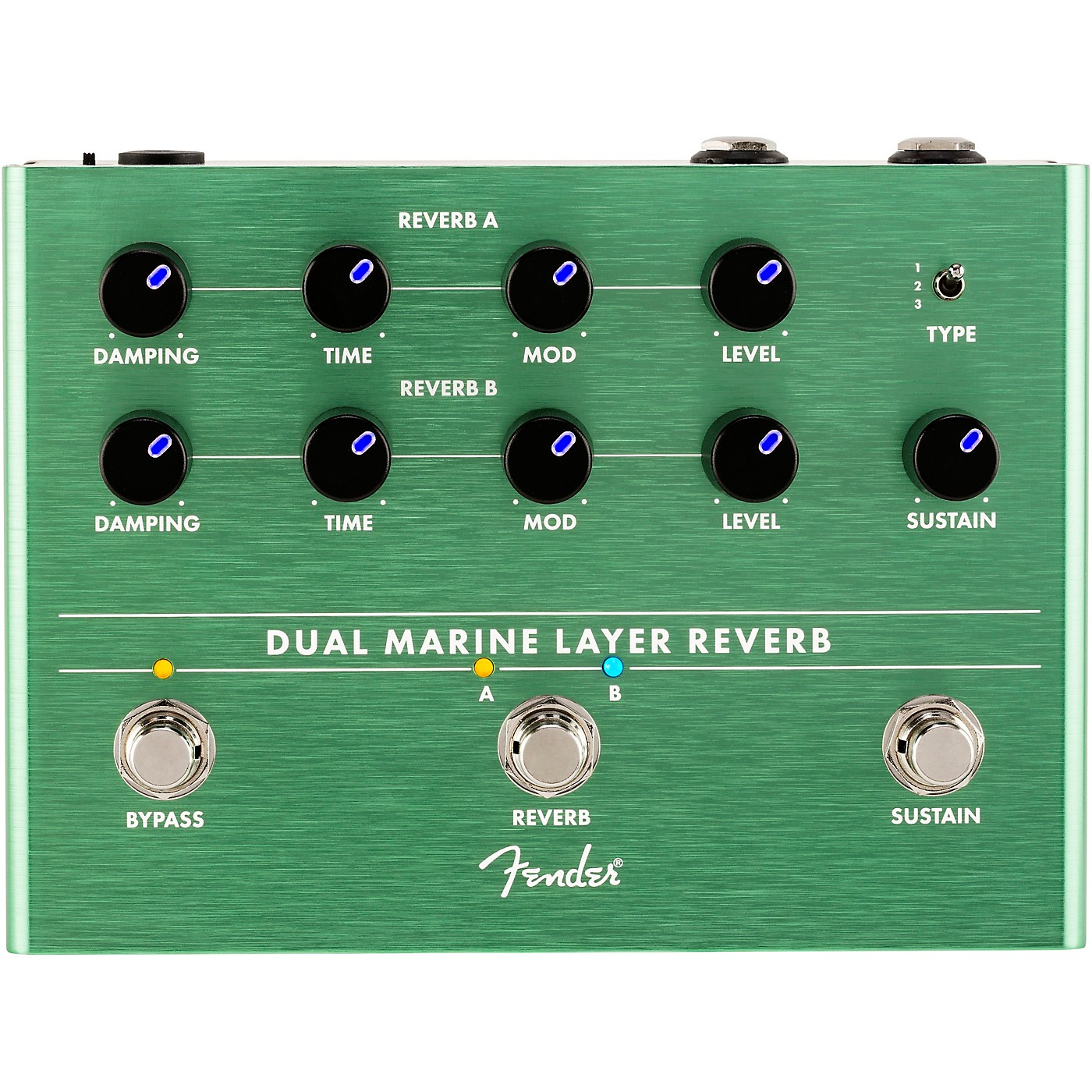 Fender Dual Marine Layer Reverb Effects Pedal thumbnail