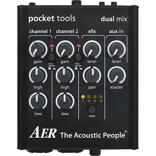 AER Dual-Mix 2 Acoustic Guitar Direct Box and Preamp thumbnail