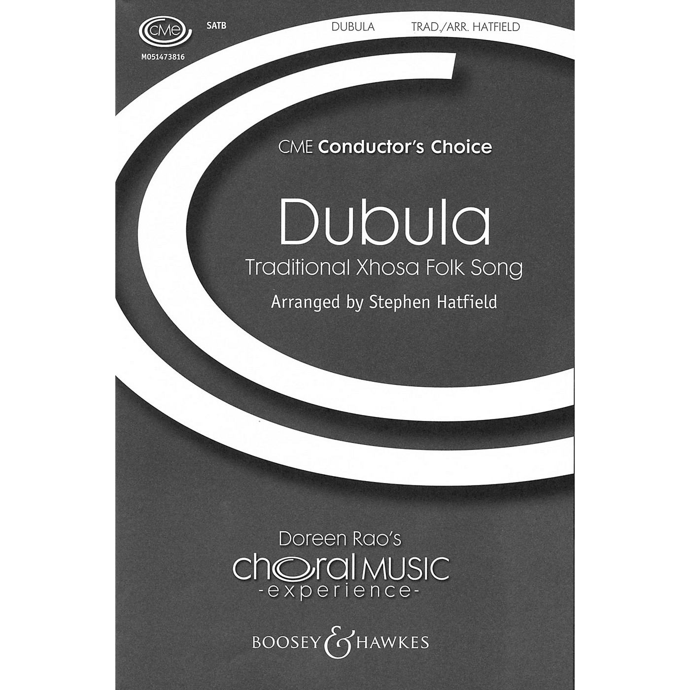 Boosey and Hawkes Dubula (CME Conductor's Choice) SSATB A Cappella arranged by Stephen Hatfield thumbnail