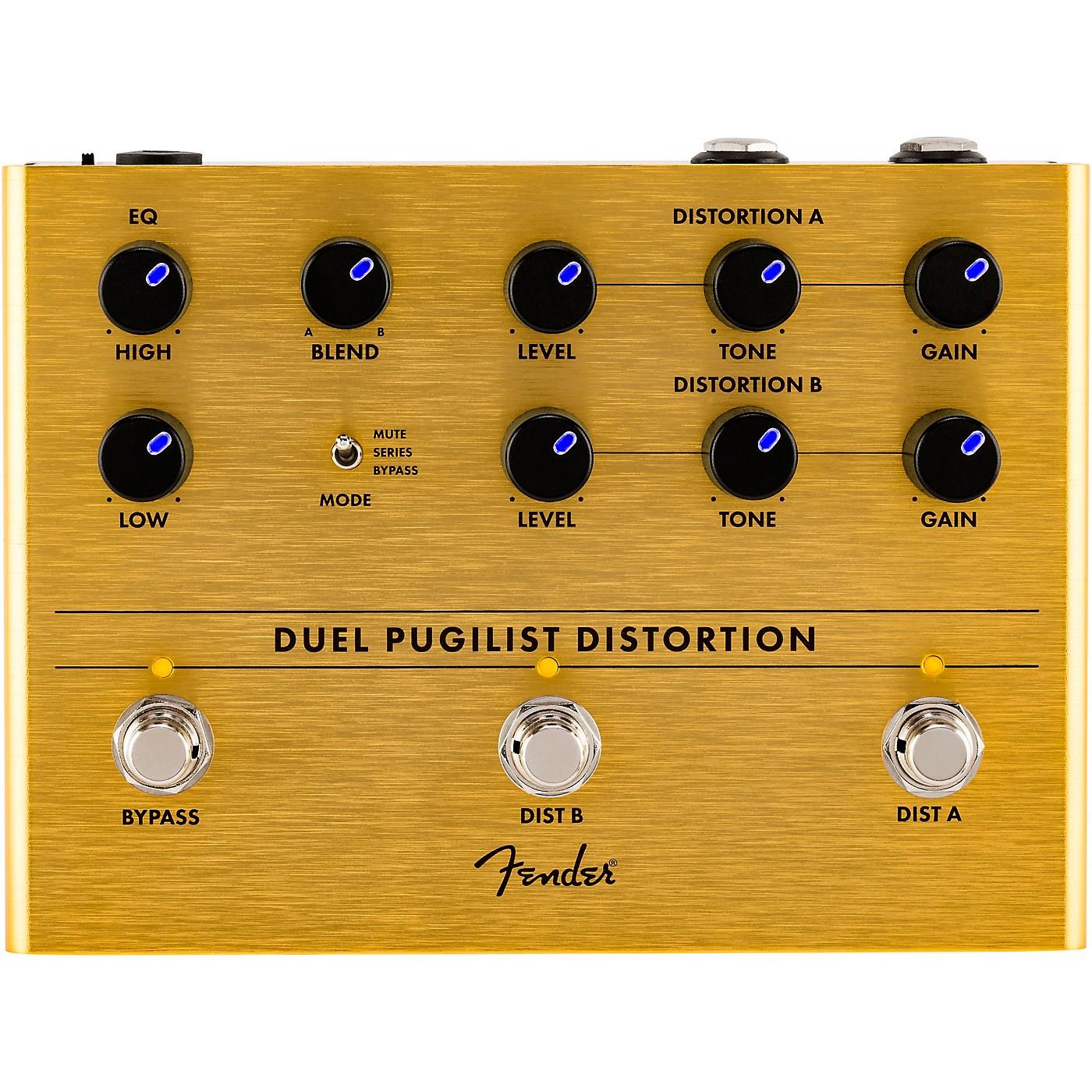 Fender Duel Pugilist Distortion Effects Pedal thumbnail