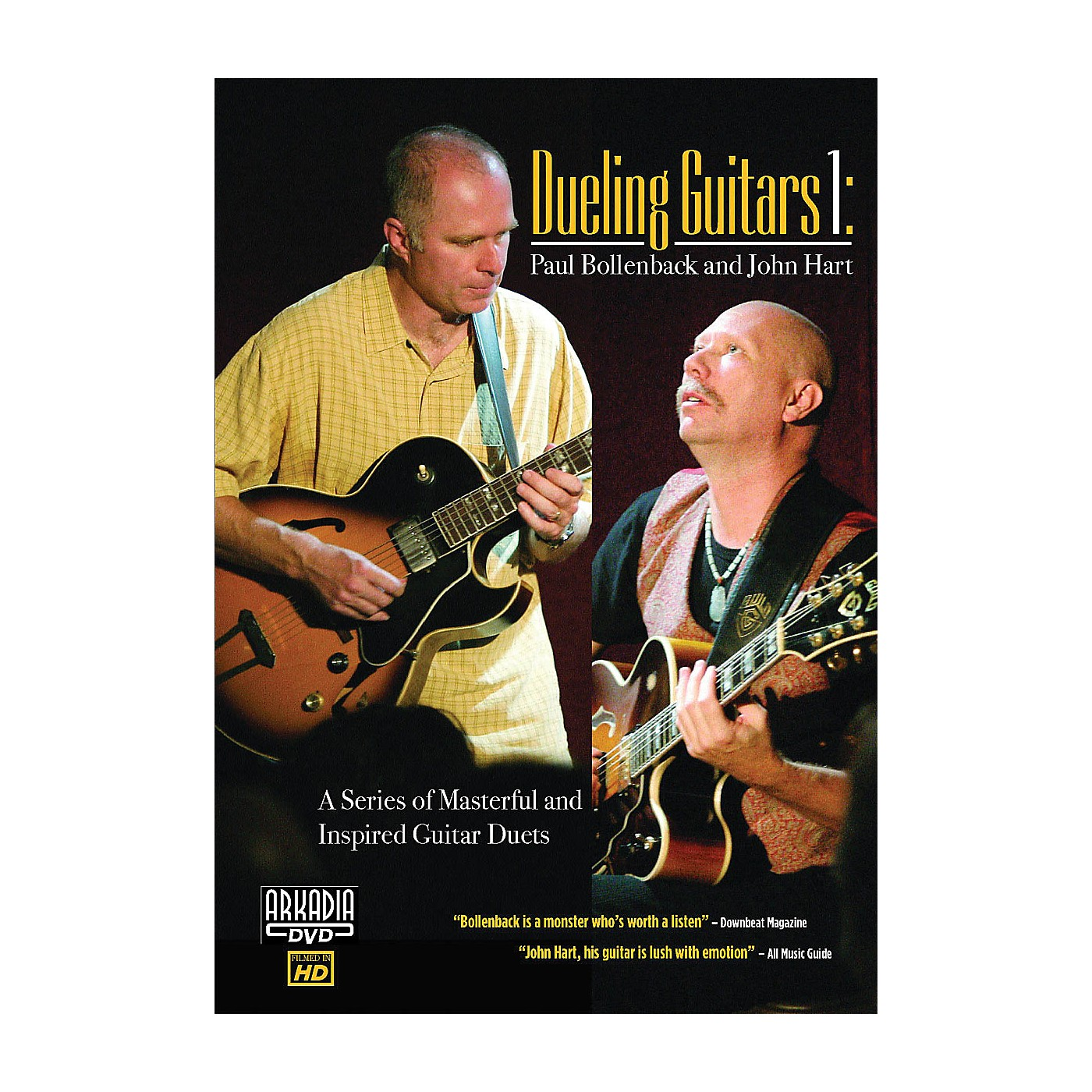 Hal Leonard Dueling Guitars 1 - Paul Bollenback & John Hart DVD Series DVD Performed by Paul Bollenback thumbnail