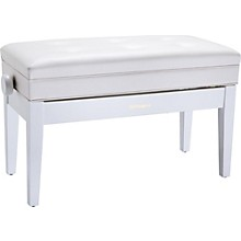 Roland Duet Piano Bench - Cushioned with Storage Compartment