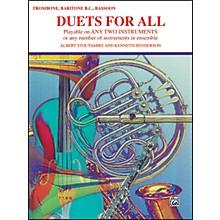 Alfred Duets for All Trombone Baritone B.C. Bassoon