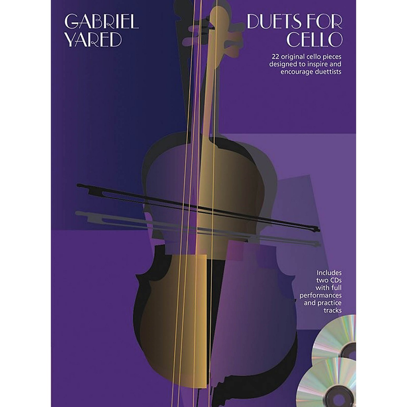 Chester Music Duets for Cello Music Sales America Series Softcover with CD thumbnail