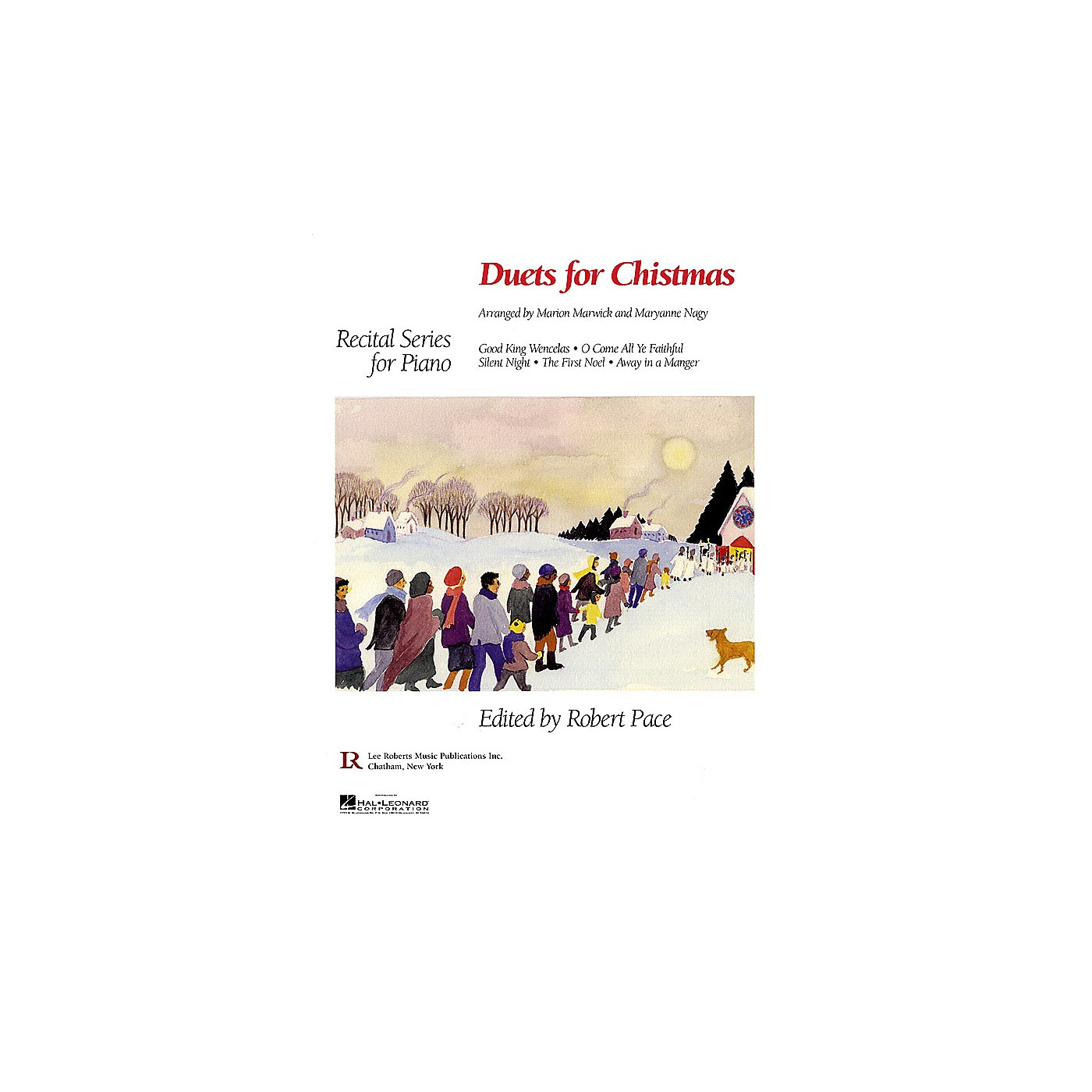 Lee Roberts Duets for Christmas Pace Piano Education Series thumbnail