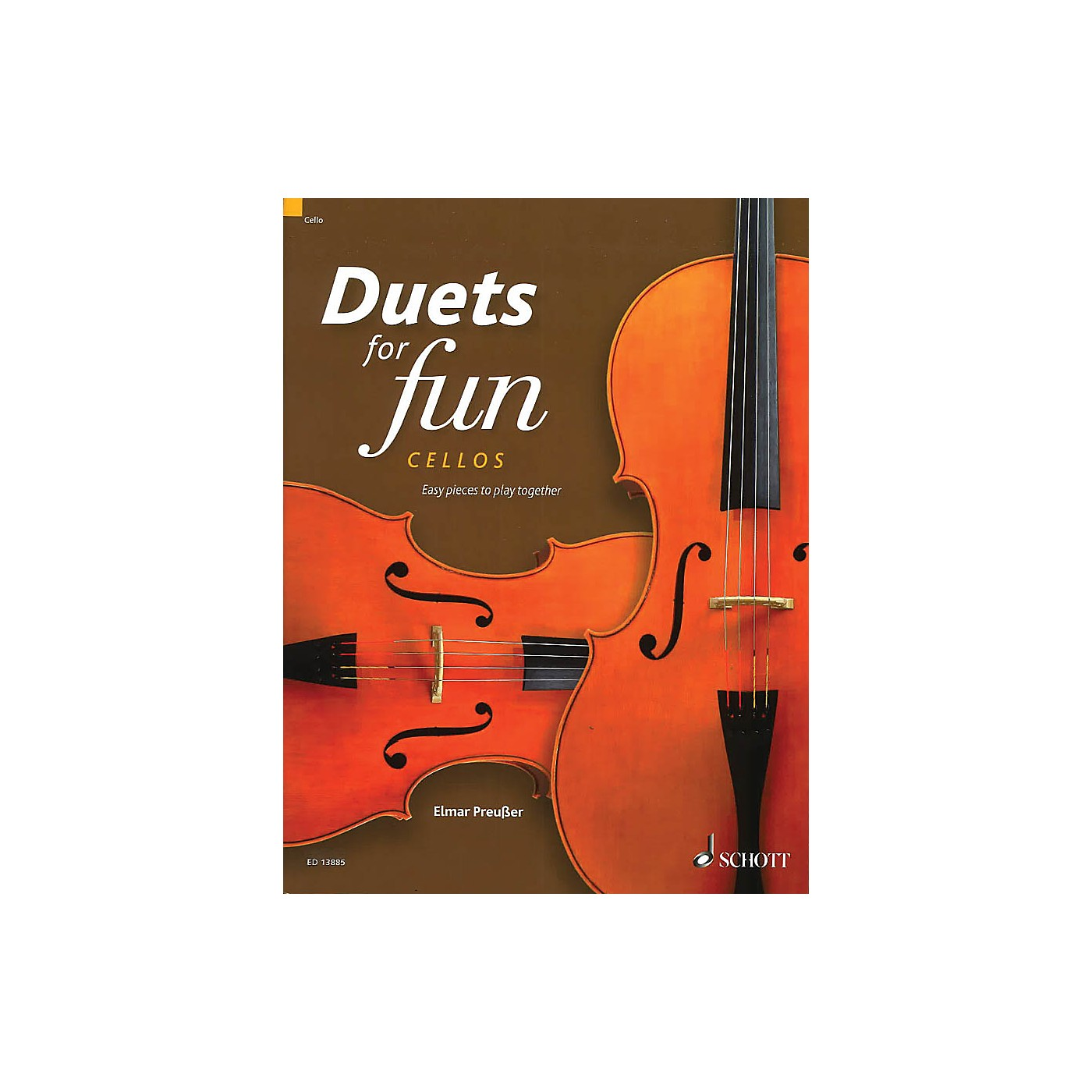 Schott Duets for Fun: Cellos String Ensemble Series Softcover Composed by Various thumbnail