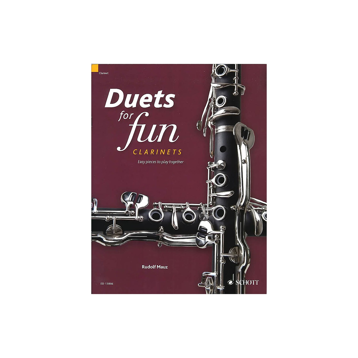 Schott Duets for Fun: Clarinets (Easy Pieces to Play Together) Woodwind Ensemble Series Softcover thumbnail