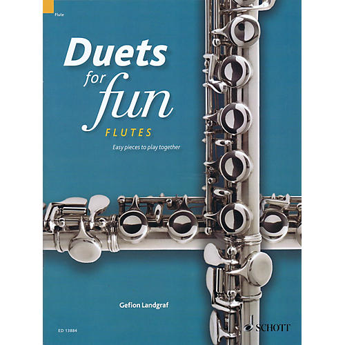 Schott Duets for Fun: Flutes Woodwind Ensemble Series Softcover thumbnail