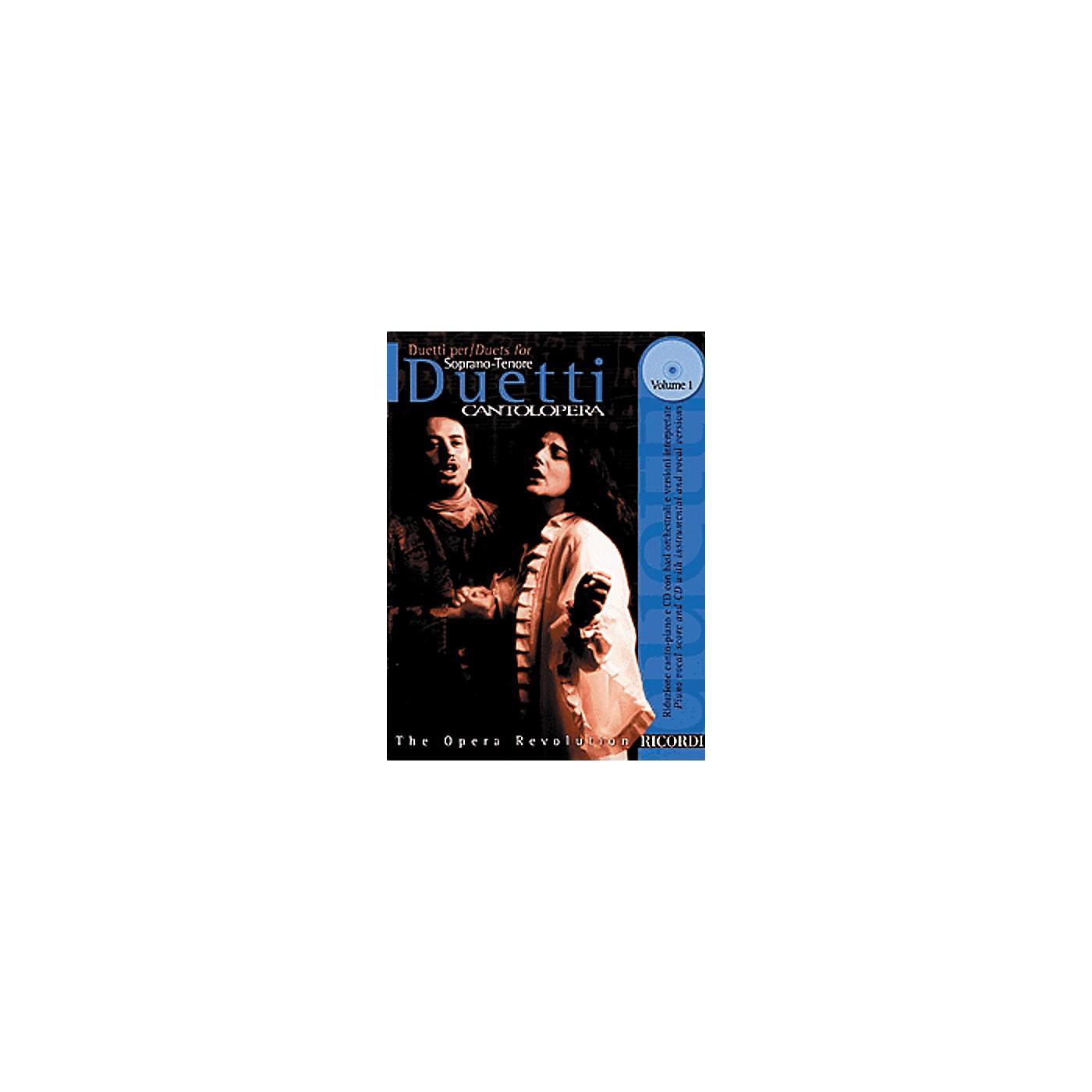 Hal Leonard Duets for Soprano/Tenor - Volume 1 thumbnail