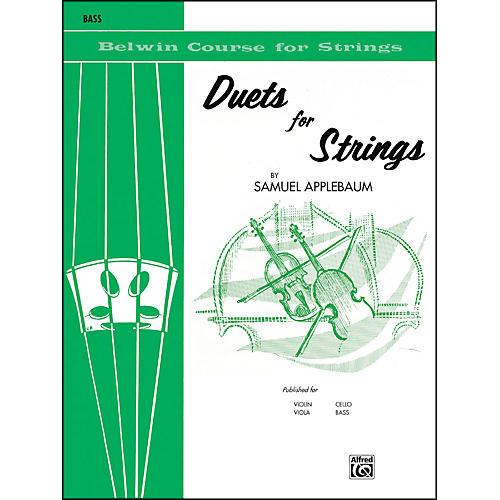 Alfred Duets for Strings Book I Bass thumbnail