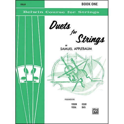 Alfred Duets for Strings Book I Cello thumbnail