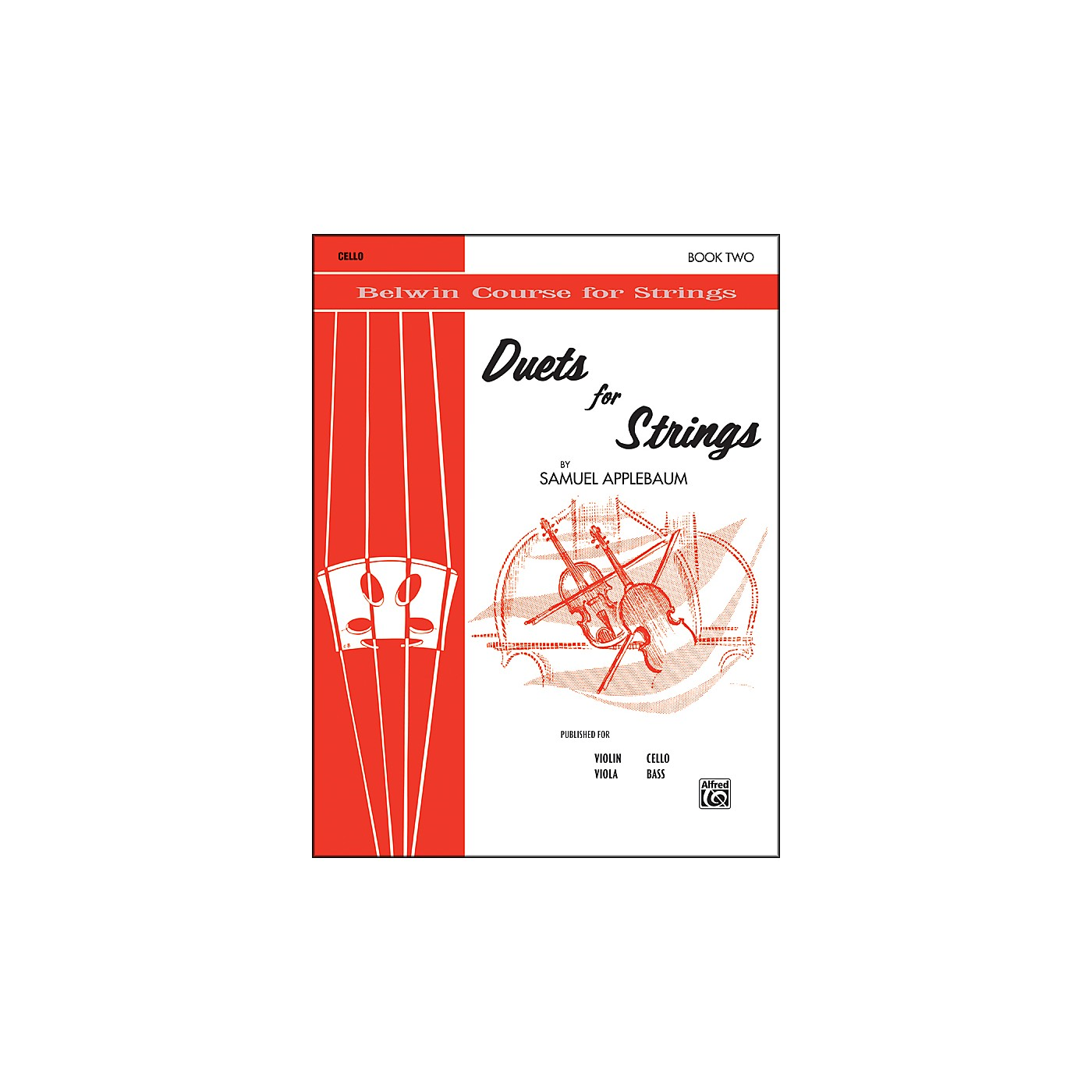 Alfred Duets for Strings Book II Cello thumbnail