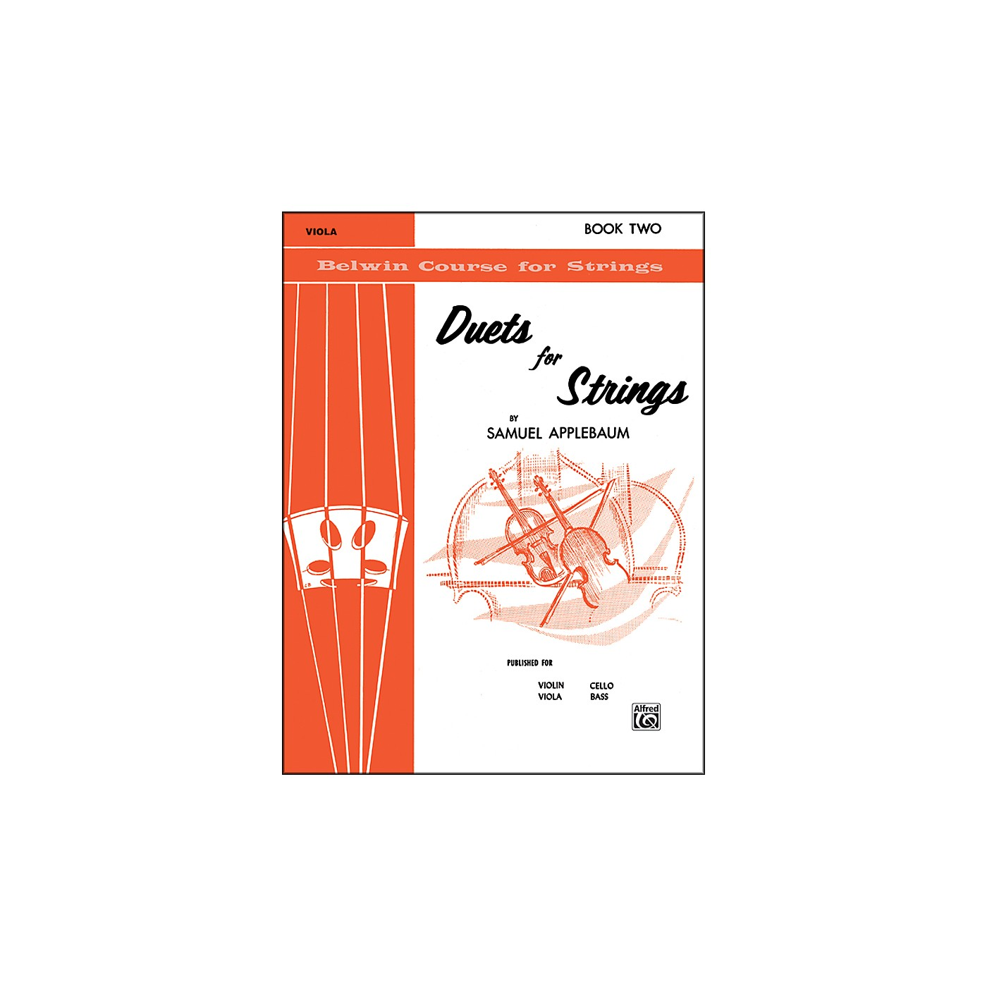 Alfred Duets for Strings Book II Viola thumbnail