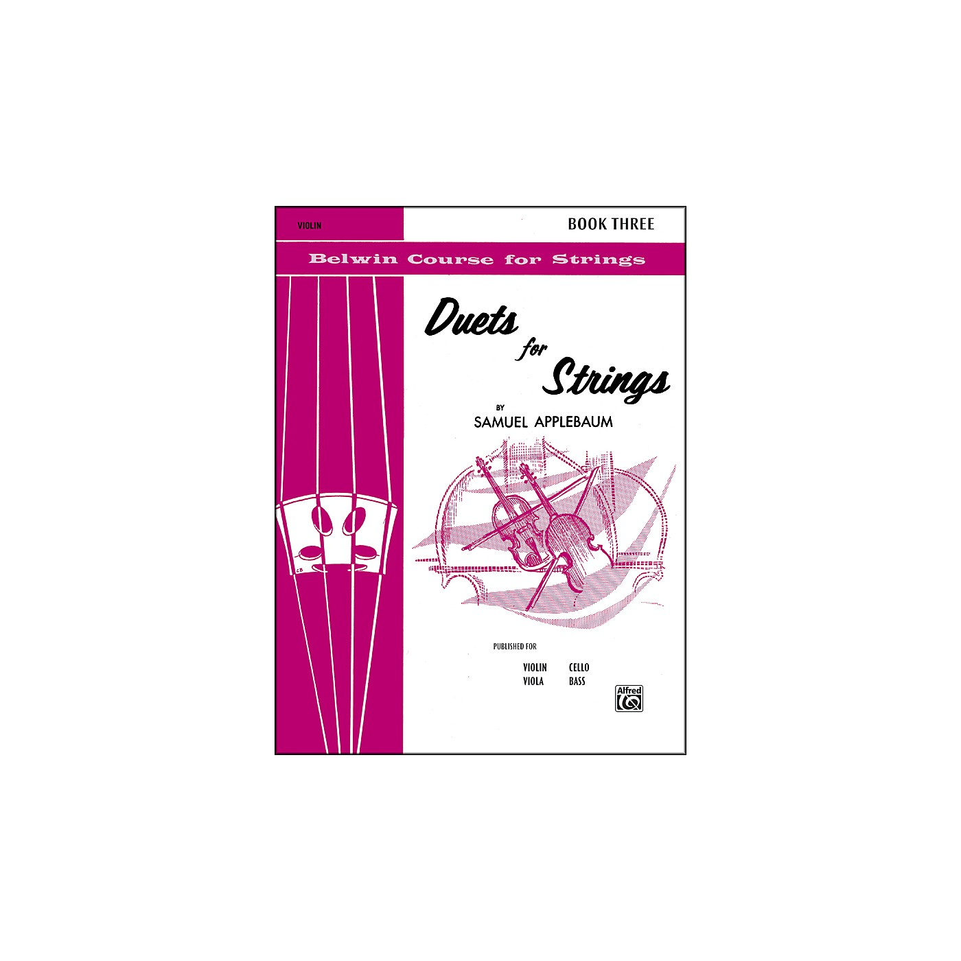 Alfred Duets for Strings Book III Violin thumbnail