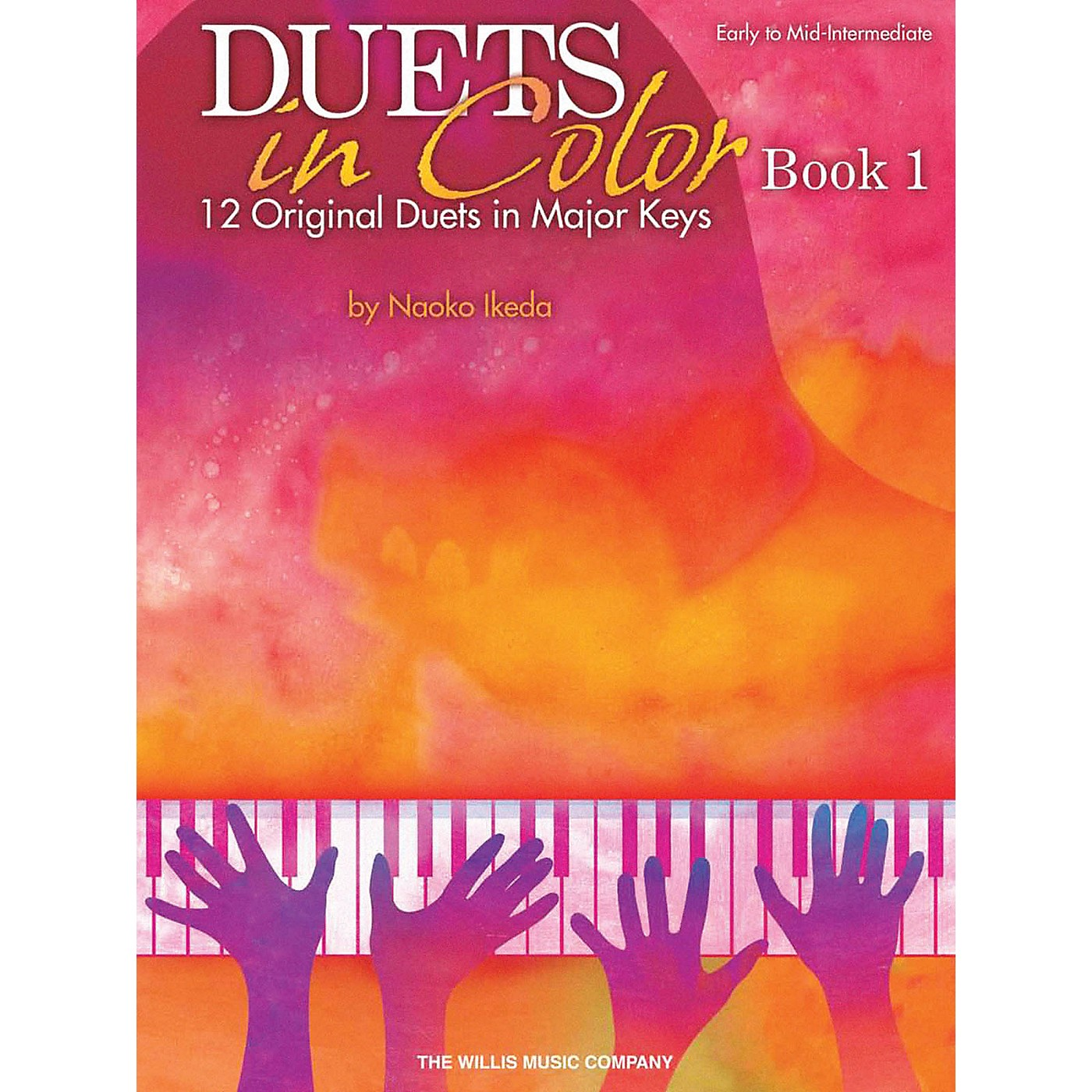 Willis Music Duets in Color - Book 1 (Early to Mid-Inter Level) Willis Series by Naoko Ikeda thumbnail