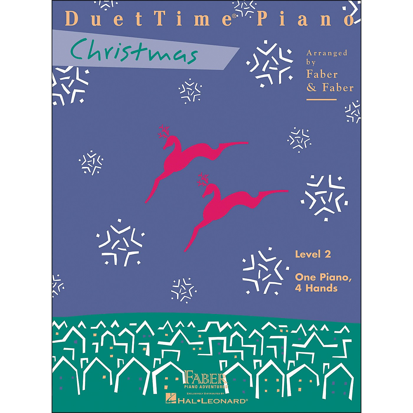 Faber Piano Adventures Duettime Piano Christmas Level 2 One Piano Four Hands - Faber Piano thumbnail