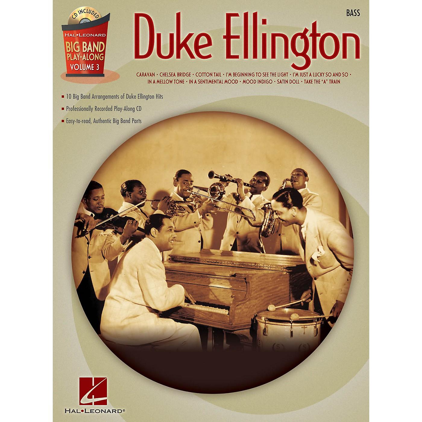 Hal Leonard Duke Ellington - Bass (Big Band Play-Along Volume 3) Big Band Play-Along Series Softcover with CD thumbnail